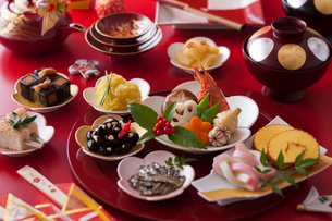 おせち料理の写真素材 [FYI02679735]