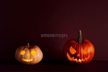 ハロウィンカボチャの写真素材 [FYI02679933]