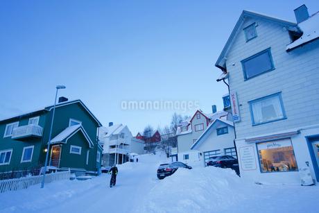 ノルウェーのハシュタの街の写真素材 [FYI02679963]