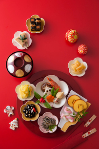 おせち料理の写真素材 [FYI02680049]