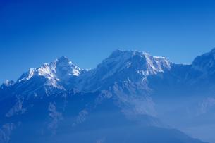 ヒマラヤ山脈マナスルの写真素材 [FYI02680086]