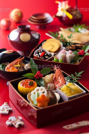 おせち料理の写真素材 [FYI02680201]