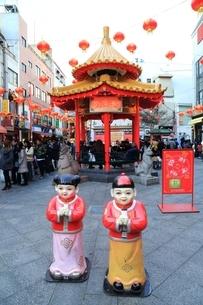 神戸南京町・中華街の写真素材 [FYI02680259]
