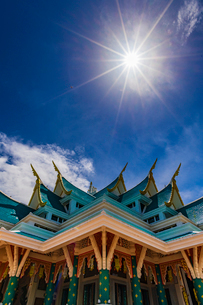 Wat Pa Phu Kon, Thailandの写真素材 [FYI02680407]