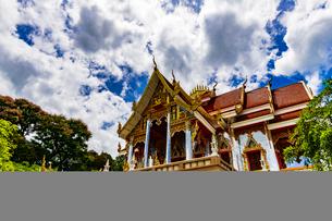 Wat Phrathat Bangphuan, Nong khai, Thailandの写真素材 [FYI02680490]