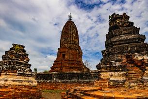 Wat Phra Si Rattana Mahathat, Suphanburi, Thailandの写真素材 [FYI02680590]
