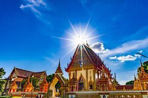 Wat Si Thep Pradittharam, Nakhon Phanom, Thailandの写真素材 [FYI02680607]