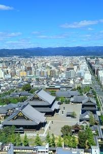 京都タワーより望む京都市街の写真素材 [FYI02680611]