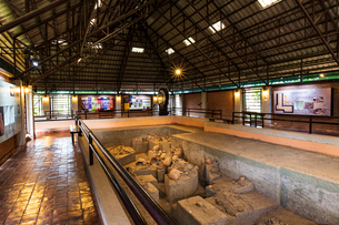 バーンチエン遺跡,タイ王国の写真素材 [FYI02680846]