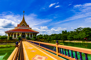 Wat Pho Chai Si, Thailandの写真素材 [FYI02681176]