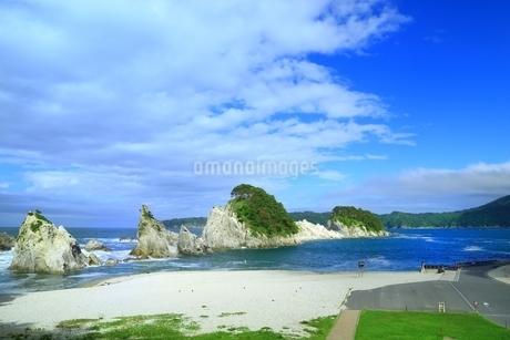 三陸 浄土ヶ浜の写真素材 [FYI02681186]