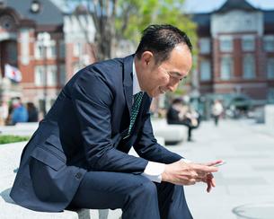 シニアのビジネスマンの写真素材 [FYI02681196]