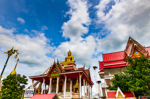 Wat Si Sumang, Nong Khai, Thailandの写真素材 [FYI02681210]
