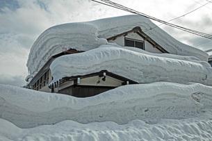 冬の本道寺地区の写真素材 [FYI02681220]