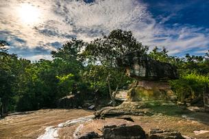 タイ王国 プープラバート歴史公園の写真素材 [FYI02681291]