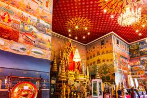 Wat Pho Chai, Nong Khai, Thailandの写真素材 [FYI02681336]