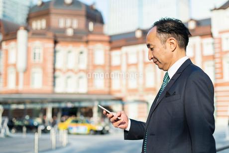 シニアのビジネスマンの写真素材 [FYI02681392]