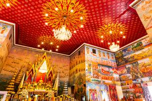 Wat Pho Chai, Nong Khai, Thailandの写真素材 [FYI02681484]