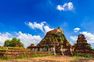 タイ  アユタヤ 遺跡群の写真素材 [FYI02681525]