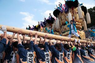 新居浜太鼓祭りの写真素材 [FYI02681533]