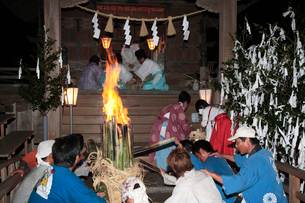 久礼八幡宮秋季例大祭の写真素材 [FYI02681612]