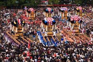 新居浜太鼓祭りの写真素材 [FYI02681690]
