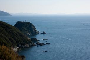 女子岬灯台の写真素材 [FYI02681705]