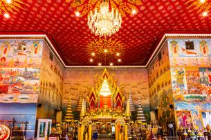 Wat Pho Chai, Nong Khai, Thailandの写真素材 [FYI02681731]