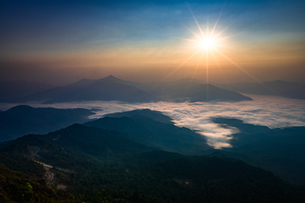 タイ チェンライ ドーイパタンの写真素材 [FYI02681798]