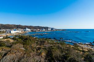 大海原を望む房総半島・野島崎の写真素材 [FYI02681838]