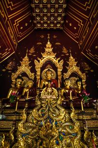 タイ チェンマイ ワット・チャーンテームの写真素材 [FYI02681858]