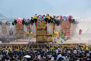 新居浜太鼓祭りの写真素材 [FYI02681875]