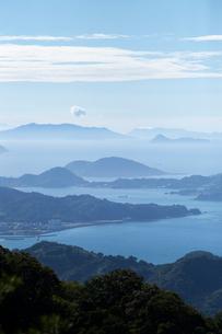 瀬戸内海の島々の写真素材 [FYI02681906]