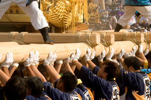新居浜太鼓祭りの写真素材 [FYI02682033]