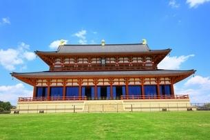 平城宮跡 大極殿の写真素材 [FYI02682200]