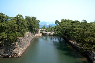 讃岐高松城跡 水門の写真素材 [FYI02682202]