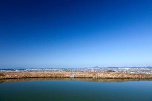 道後平野と青い空の写真素材 [FYI02682208]