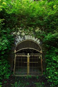 旧別子銅山第三通洞入口の写真素材 [FYI02682275]
