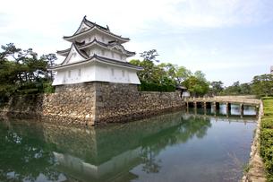 讃岐高松城 艮櫓の写真素材 [FYI02682332]