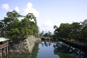 讃岐高松城跡 水門の写真素材 [FYI02682399]