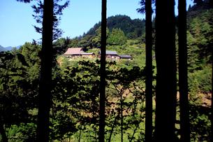 坂本龍馬脱藩の道からの眺めの写真素材 [FYI02682445]