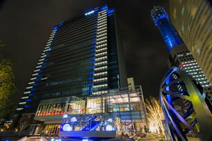 TOWERS Milight みなとみらい全館ライトアップの写真素材 [FYI02682591]