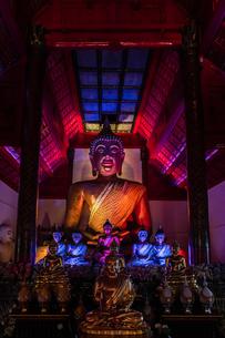 タイ チェンマイ ワット・パーカーオの写真素材 [FYI02682727]