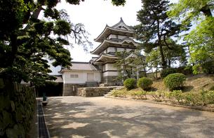 讃岐高松城 月見櫓の写真素材 [FYI02682733]
