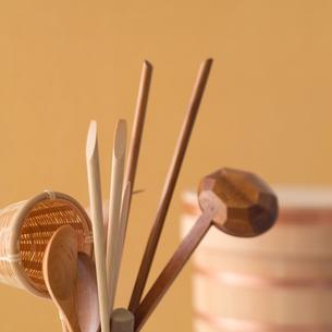 和食器と食事の写真素材 [FYI02682955]