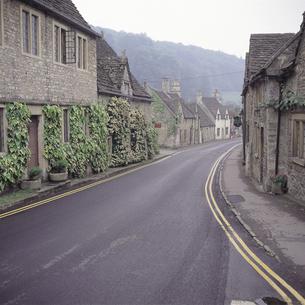 キャッスルクームの街並み イギリスの写真素材 [FYI02683270]