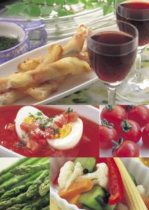 洋食のイメージ・コラージュの写真素材 [FYI02683361]