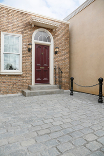 おしゃれなイギリスイメージの住宅の写真素材 [FYI02686136]