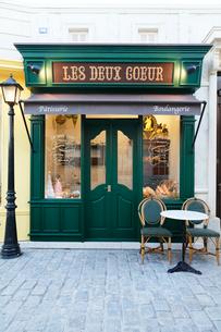 パリのイメージのカフェの写真素材 [FYI02686460]