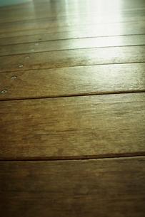 フローリングの床の写真素材 [FYI02686688]